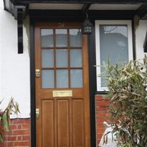 Wooden Entry Doors ​
